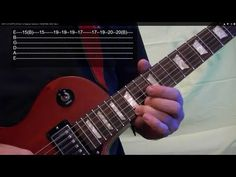 EASY LED ZEPPELIN Solo For Beginner Guitarists ( TANGERINE, With Tabs )