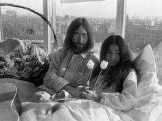 "when-im-74: ""My favourite photos of John and Yoko. """