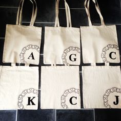 Hen party gift bags #hen #diy #partybags