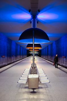 Beautiful Subway Stations Photography | Abduzeedo | Graphic Design Inspiration and Photoshop Tutorials