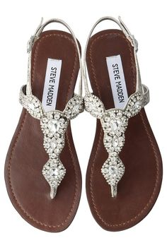 1dd607f23efe7c Sparkle Flats by STEVE MADDEN closet envy ❤ liked on Polyvore featuring  shoes