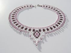 AFK  Handmade necklace with tiny beads от ArtFromKryg, zł80.00