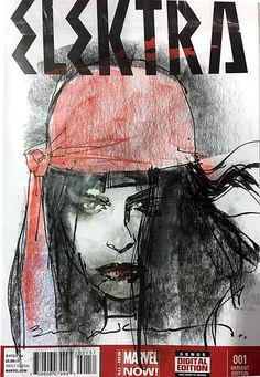 Elektra by Bill Sienkiewicz *