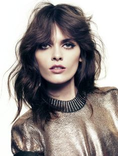 Lov the cut. But I don't think it's for me. But I will do the make up.