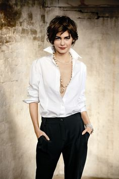 french chic ... Audrey Tautou