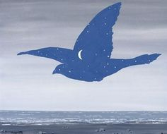 Pix For > Rene Magritte Paintings Bird