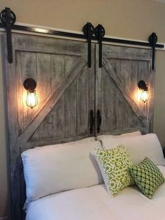 diy-barn-door-headboard-cheap-home-decor-projects-ideas