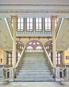Balet School (Stairs), Havana, Cuba, 2014