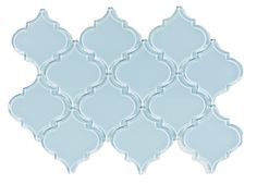 Show vapor arabesque glass tile