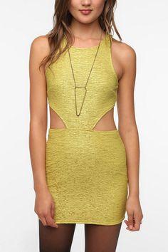 MINKPINK Christine Cutout Mini Dress  #UrbanOutfitters