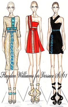 Hayden Williams for Versace SS11 collection pt2 by Fashion_Luva, via Flickr