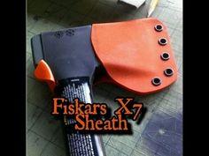 Fiskars X7 Hatchet Kydex Sheath.