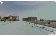 La venta de vivienda social en Madrid: de la calle a los tribunales, por Pilar Treviño y Nerea Zusbero (Imagen de Google Street View desde uno de los puntos del recorrido)
