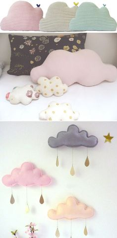 Cute DIY Cloud Cushions