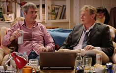 Neil Morrissey and Martin Clunes back together as Tony and Gary for Stand Up to Cancer sketch, October, 2014.