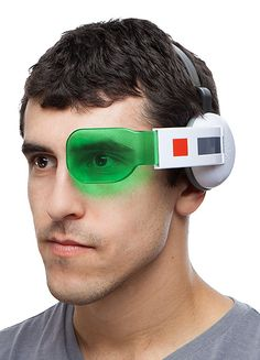 Dragon Ball Z Scouter | ThinkGeek  ughhhh... right in the childhood D: need~!