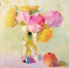 Pastels by Carol Maguire Oil ~ x