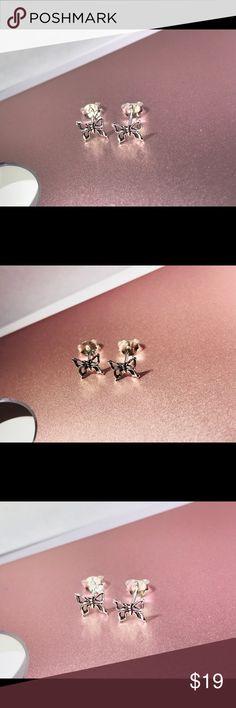 Sterling silver butterfly 🦋 earrings Fine sterling silver butterflies Kay Jewelers Jewelry Earrings