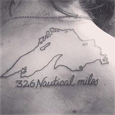 My new Lake Superior tattoo