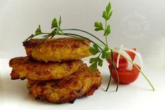 Fotorecept: Karbonátky Hokkaidó Tandoori Chicken, Salmon Burgers, Pesto, Risotto, Food And Drink, Low Carb, Healthy Recipes, Healthy Food, Ale