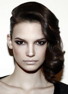 modern punk updo #hair #hairstyle