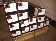 Rolki folii Global CH HP - naszej najlepszej folii metalizowanej - do przyciemnienia samochodów / Full rolls of our best Global Charcoal (metallized) film for automotive application