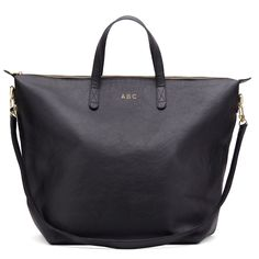 Oversized Carryall Tote Black (Wish this came in a brown!! But until it does, the black is where it's at.)