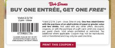 Bob Evans BOGO: $500 in Restaurant BOGO & $500 in Grocery Coupons Nationwide #bobevans  #coupons #couponing #clipping #save #deals #grocery #moms #dads #budget #restaurant #eatingout