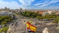 Площадь Сибелес (Кибела) Plaza Cibeles Мадрид Испания экскурсии