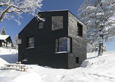 Holiday House Girardi, designed by Philip Lutz ZT-GmbH, Bregenz Forest, Austria