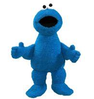 GUND Oversized Sesame Street Soft and Silky Plush Cookie Monster Doll Sesame Street Cookies, Blue Cookies, Pet Toys, Cuddling, Cookie Monster, Dinosaur Stuffed Animal, Stuffed Animals, Plush, 18 Months