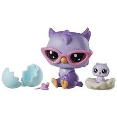Littlest Pet Shop Oona Owler/Nona Owler