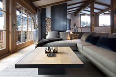 for wood and design Indoor Outdoor, Couch, Wood, Furniture, Design, Home Decor, Style, Houses, Homes