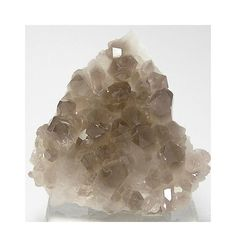 Smoky Quartz Crystal Cluster from New Hampshire by FenderMinerals