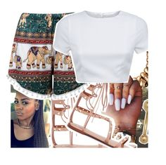 summer set by eniola29 on Polyvore featuring polyvore fashion style AQ/AQ None the Richer clothing