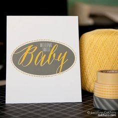Rock Chalk Baby Blog Hop | Welcome Sweet Baby by @Joscelyne Cutchens