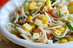 Angel Hair Garden Pasta Salad : Healthy Pasta Recipes