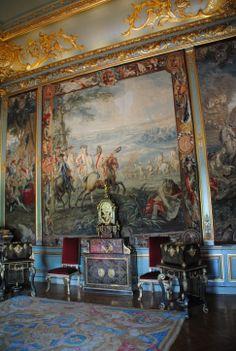 Blenheim Palace interior - tapestries