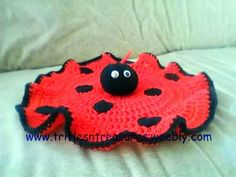 Find out more about tkulling'sCrocheting project Ladybug Lovey-Crochet Pattern on Craftsy! - via @Craftsy