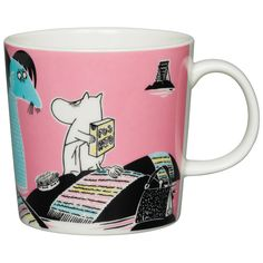 Moomin mug, Keep Sweden Clean - Arabia #interior #design