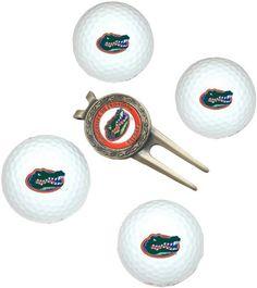 b78bd1d0161 NCAA Florida 4-Pack Team Golf Ball Gift Set by Team Golf.  19.99.