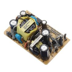 5pcs AC-DC 12V 0.5A 6W Switching Power Bare Board Stabilivolt Power Module For LED Stage Light AC 100-240V To DC 12V
