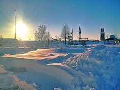 Lots of pretty snow in the #Fargo #Moorhead area!