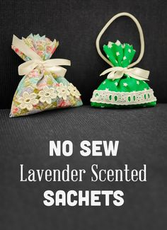 Lavender Sachets Can Be Hung In Wardrobes Or Placed Drawers Given As Gifts To
