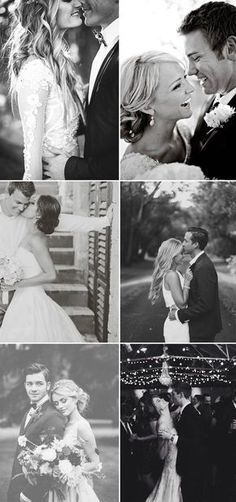 romantic black and white wedding photo ideas #weddingphotography