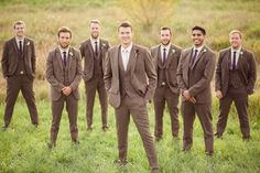 Men's suits - although with brown or beige ties! Plus brown converse - I hate brown shoes