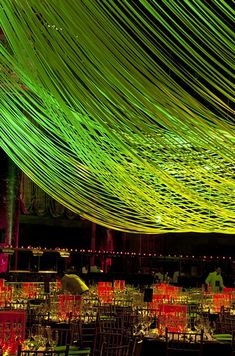 OMG : It Looks Just Like the Rendering : American Friends of the Israel Museum Gala Event Lighting, Lighting Design, David Stark, Call Art, Event Decor, Gala Decor, Floral Centerpieces, Event Styling, Event Design