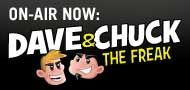 Dave & Chuck the Freak-101 WRIF - Detroit