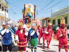 En esta festividad que es una feria que realizan todos los años se puede observar como los xincas dan gracias a sus dioses por el año que han tenido y tambien en esta festividad los xincas le piden a sus Dioses por otro año, tambien hay danzas para celebrar con todo el pueblo. clave:18