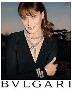 Carla Bruni for Bulgari gallery - Vogue Australia